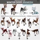 SEmotion Libellune Winter Deer Animesh #7