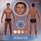 [DNA] Alberto Skin HUD