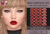 Red lipstick catwa