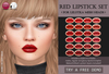 Izzie's - Red Lipstick Set (LeLutka)