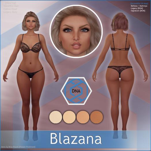 [DNA] Blazana Skin HUD