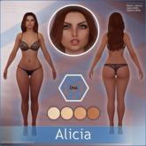 [DNA] Alicia Skin HUD