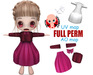 [ FULL PERM ] CHIBIT DRESS B