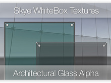 Promo Save L$200 Architectural Glass - Skye Whitebox 30 Full Perms Textures