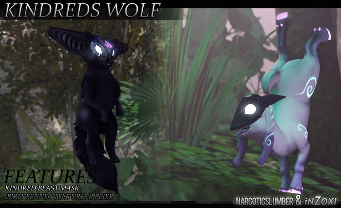 [iZi+NS] Kindred WOLF Mod - NB Fennec