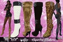 **SD**- Aljce -Romantic  formal boots Stiletto (Full Colors)