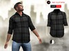 A&D Clothing - Shirt -Finn- Ebony