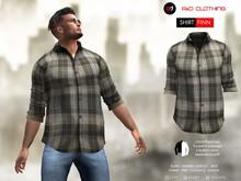A&D Clothing - Shirt -Finn- Mink