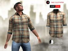 A&D Clothing - Shirt -Finn- Brown