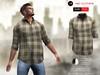 A&D Clothing - Shirt -Finn- Clay