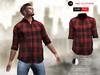 A&D Clothing - Shirt -Finn- Red