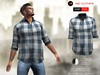 A&D Clothing - Shirt -Finn- Blue