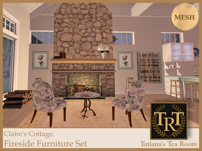 TTR-CC Fireside Furniture Set