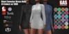 GAS [Short Sweater Dress Nola - 24 Colors w/HUD FATPACK]