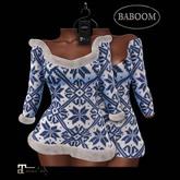 Baboom-Winter-dress / Fur-blueMAITREYA
