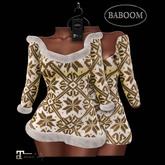 Baboom-Winter-dress / Fur-curryMAITREYA