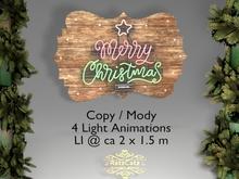 .: RatzCatz :. Neon Sign *Merry Christmas*