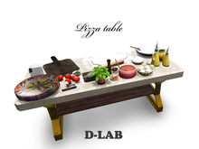 D-LAB Pizza table