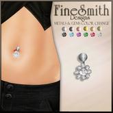 Finesmith jewelry Flower BELLY pierceing