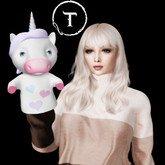 SEmotion Libellune Unicorn Puppet Animesh #2 RARE
