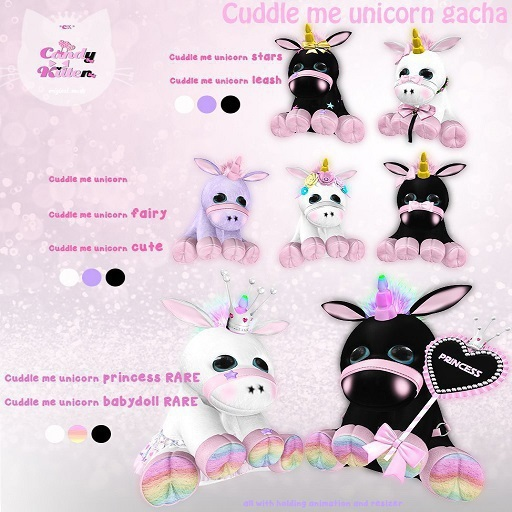 *CK* Cuddle me unicorn pastel
