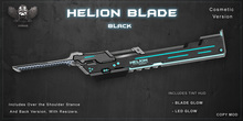 [The Forge] Helion Blade, Black