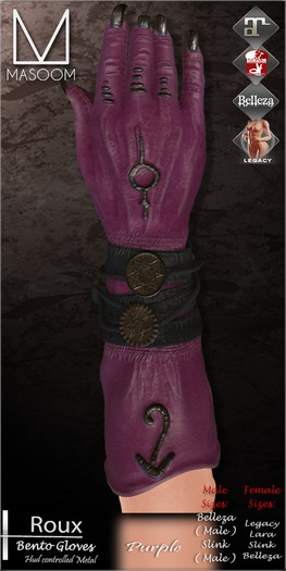 [[ Masoom ]] Roux Bento Purple {Belleza Jake}
