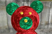 Lettie Linden Christmas Bear '19