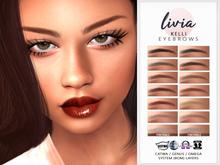 LIVIA::Kelli Eyebrows [Catwa/Genus/Omega/Tatt] (wear me)