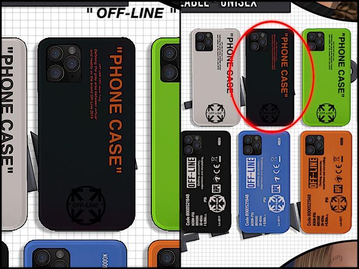 """Off-Line"" Phone 1 - Black"