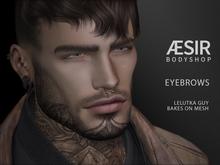 >AESIR< Nando Eyebrows [LeLutka Guy/BoM]
