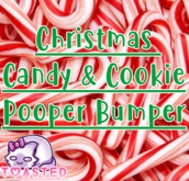 TOASTED // Christmas Candy & Cookie pooper bumper