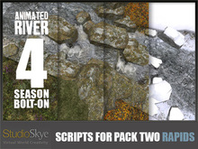 Skye Animated River Pack 2 - 4 Season Bolt-on [Scripts Only]