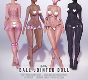 Ball-Jointed Doll, Dolly Blush + Shine: Omega + Bakes on Mesh System Layers by Sweet Thing - Great for Belleza!