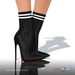 [Gos] Lea Stretch-Knit Boots - Black