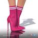 [Gos] Lea Stretch-Knit Boots - Vivacious