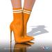 [Gos] Lea Stretch-Knit Boots - Dark Cheddar