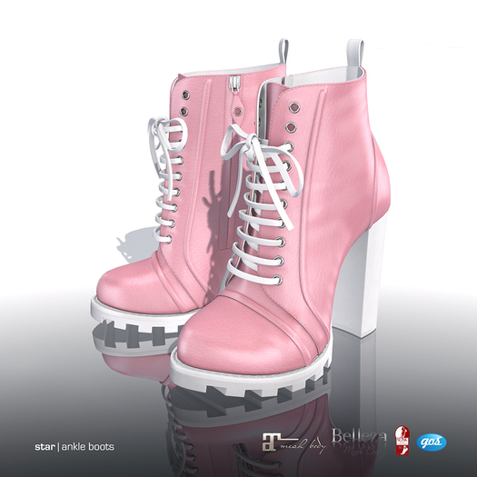 [Gos] Star Boots - Pink