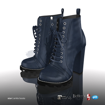 [Gos] Star Boots - Navy