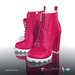 [Gos] Star Boots - Fuchsia