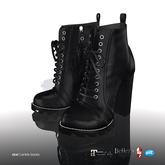 [Gos] Star Boots - Black