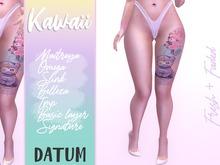 DATUM // Kawaii TATTOO ♀