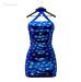 ** Harmonia Blue Snow Anne Dress - Maitreya Slink Freya