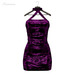** Harmonia Magenta Lace Anne Dress - Maitreya Slink Freya