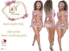 ::A::Ruth  - Pink Outfit - Delivery Packaging