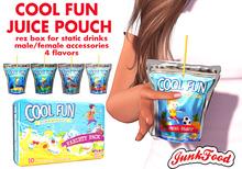 Junk Food - Cool Fun Juice Pouch
