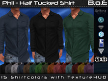 B.o.E - Phil Half Tucked Shirt (box)