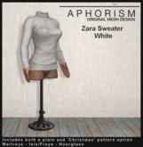 !APHORISM! - Zara Sweater White