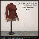 !APHORISM! - Zara Sweater Rust