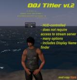 ODJ Titler